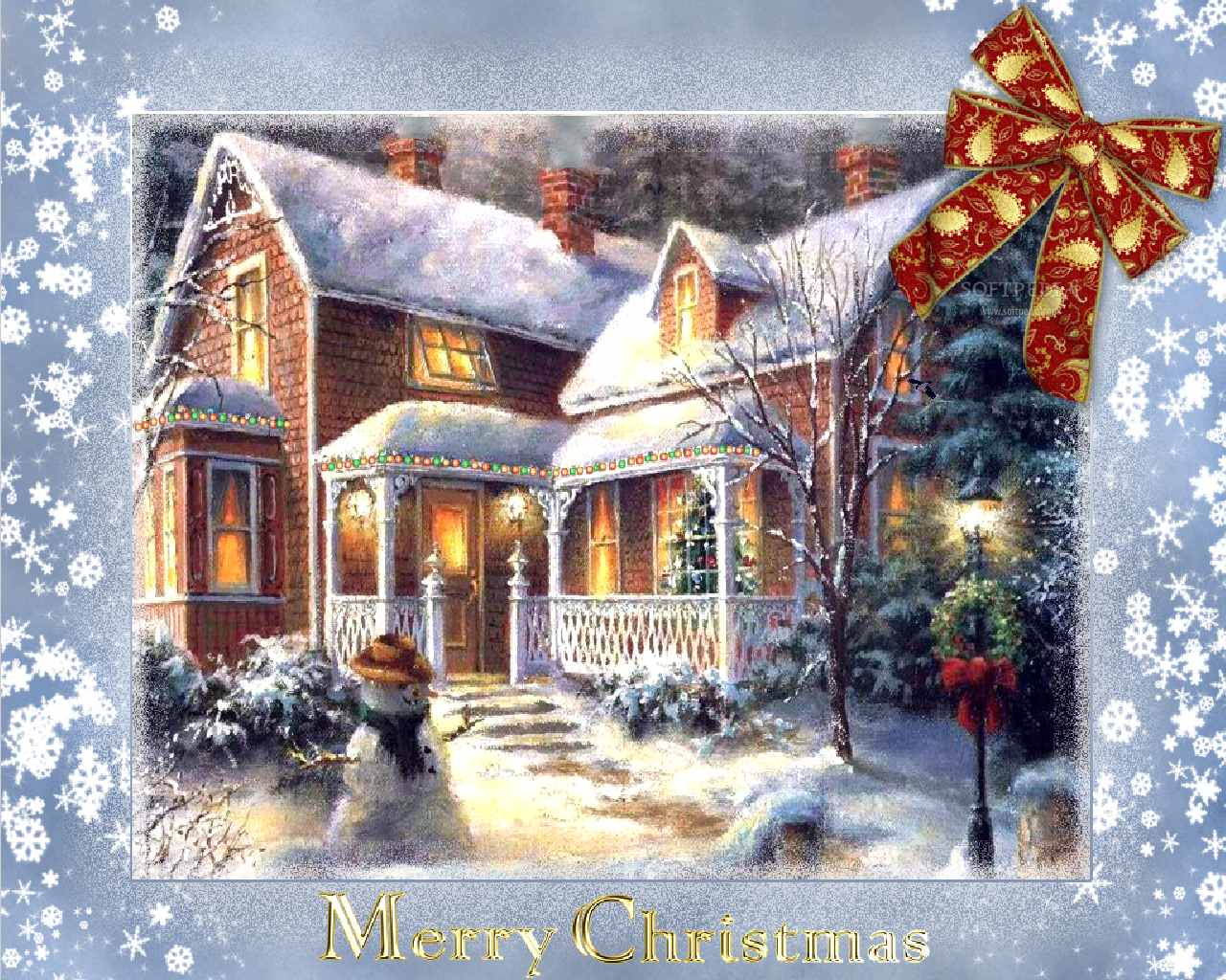 Christmas time animated wallpaper 1