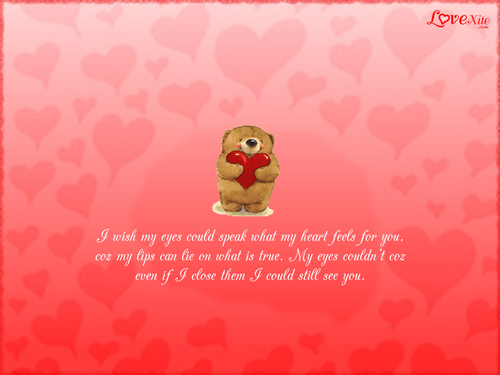 I Love You Wallpaper with Quote