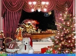 X mas eve animated wallpaper 70348 1